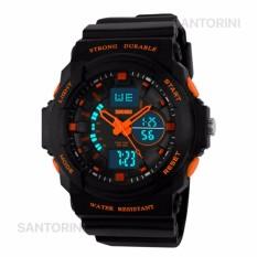 Tips Beli Skmei Pria Jam Tangan Skmei Olahraga Militer Tahan Air Analog Digital Led Multifungsi Waterproof Sports Men Watch Orange Yang Bagus