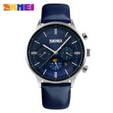 Beli Skmei Quartz Watches Leather Casual Sport Luxury Watches 9117 Intl Skmei Murah