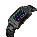 Jual Skmei Rectangle Digital Watch Pria Elektronik Led Tahan Air Digital Arloji Fantastic Solid Unisex Watch Dengan Kalender Intl Import