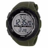 Review Toko Skmei S Shock Digital Sport Watch Dg1025 Water Resistant Anti Air Wr 50M Jam Tangan Unisex Tali Strap Rubber Karet Wrist Watch Wristwatch Fashion Casual Design K053 Hijau Army Online