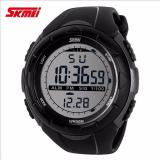 Spesifikasi Skmei S Shock Digital Sport Watch Dg1025 Water Resistant Anti Air Wr 50M Jam Tangan Unisex Tali Strap Rubber Karet Wrist Watch Wristwatch Fashion Casual Design K053 Titanium Silver Skmei