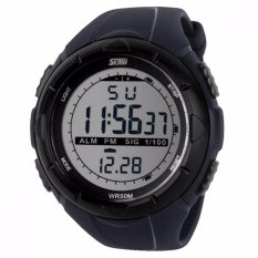 Harga Skmei S Shock Digital Sport Watch Dg1025 Water Resistant Anti Air Wr 50M Jam Tangan Unisex Tali Strap Rubber Karet Wrist Watch Wristwatch Fashion Casual Design K053 Abu Seken