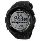Skmei S Shock Digital Sport Watch Water Resistant 50M Jam Tangan Unisex Tali Rubber Karet Dg1025 Outdoor Fashion Casual Design Wristwatch K053 Hitam Skmei Diskon 50