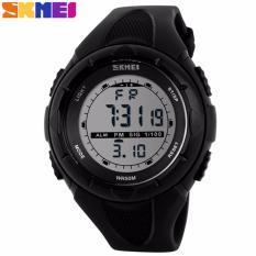 Toko Skmei S Shock Digital Sport Watch Dg1025 Water Resistant Anti Air Wr 50M D Iozr Jam Tangan Unisex Tali Strap Rubber Karet Wrist Watch Wristwatch Outdoor Fashion Casual Design K053 Hitam Lengkap