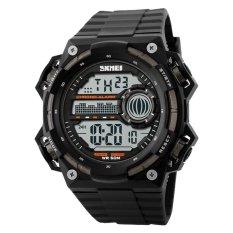 SKMEI S-Shock Militer Sport Watch Water Resistant 50m - DG1115 - Hitam/Titanium
