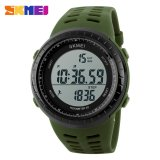 Model Skmei S Shock Pedometer Sport Watch Water Resistant 50M Dg1177S Green Terbaru