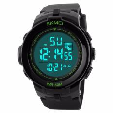 Harga Skmei S Shock Sport Digital Men Watch Water Resistant 50M Dg1127 Hitam Hijau Origin
