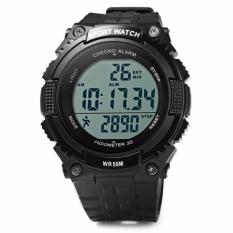 Harga Termurah Skmei S Shock Sport Watch 3D Tactical Miilitary Sport Led Digital Water Resistance 1112 Pedometer