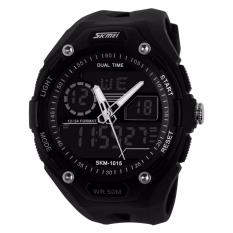 Harga Skmei S Shock Sport Watch Water Resistant 50M Ad1015 Jam Tangan Sporty Pria Day Date Stopwatch Night Light Hitam Online