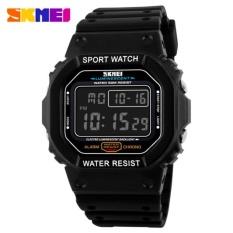 Jual Skmei S Shock Sport Watch Water Resistant 50M Dg1134 Jam Tangan Casual Jam Tangan Sport Hitam Full Skmei Asli
