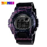 Toko Skmei S Shock Sport Watch Water Resistant Anti Air 50M Jam Tangan Day Date Stopwatch Dg1150 Hitam Ungu Terlengkap