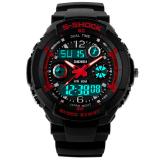 Beli Skmei S Shock Olahraga Tahan Air Led Digital Watch Merah Secara Angsuran