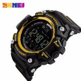 Beli Skmei Smart Watch Bluetooth Sport Jam Tangan Olah Raga Black Gold Nyicil