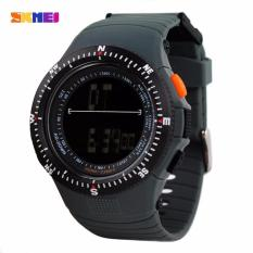 Tips Beli Skmei Sniper Abu Abu Jam Tangan Pria Strap Karet 0989 Sport Grey Free Box Jam Tangan Flash Yang Bagus