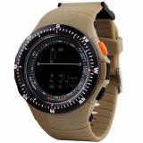 Spesifikasi Skmei Sniper Coklat Jam Tangan Pria Strap Karet 0989 Sport Brown Free Box Jam Tangan Flash Online