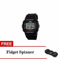 Harga Skmei Sport Men Led Watch Anti Air Water Resistant Wr 50M Dg1134 Jam Tangan Pria Tali Strap Karet Silicone Digital Alarm Wristwatch Wrist Watch Fashion Accessories Stylish Trendy Model Baru Sporty Design Hitam Putih Box Asli