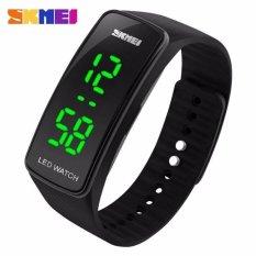SKMEI Sport Rubber LED Watch Water Resistant Anti Air WR 50m Jam Tangan Olahraga Gym Lari Casual Modern Simpel Design - 1119