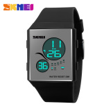 Jual Skmei Sport Silicone Led Watch Water Resistant 50M Dg1169 Black Skmei Branded