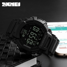 Skmei Olahraga Smart Fashion Watch Tahan Air Digital Pria Watches Outdoor Kalori Bluetooth Jam Tangan Relogio Masculino XFCS-Intl