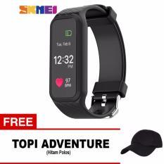 Promo Toko Skmei Sport Smartwatch L38I Black Free 1X Topi Adventure