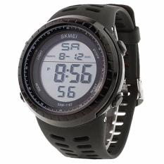 Spesifikasi Skmei Sport Watch 1167 Silicone Strap Water Resistant Anti Air Wr 50M Jam Tangan Pria Casual Sporty Design Wristwatch Wrist Watch Hitam Yang Bagus Dan Murah