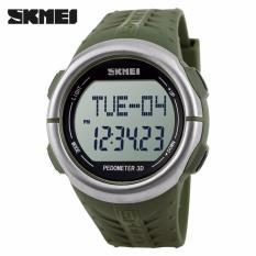 Skmei Sport Watch Pedometer Heart Rate Tracking Water Resistant Dg1058Hr Skmei Diskon