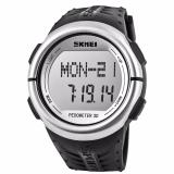 Skmei Sport Watch Pedometer Heart Rate Tracking Water Resistant Dg1058Hr Terbaru