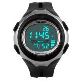 Harga Skmei Sport Watch Water Resistant 50M 1080 Fullset Murah