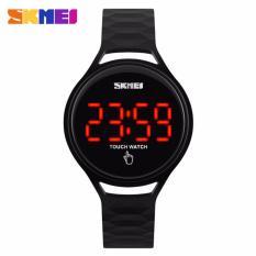 Beli Skmei Touch Hitam Jam Tangan Wanita Strap Karet 1230 Black Edition Free Box Jam Tangan Flash Dengan Kartu Kredit