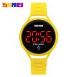 Beli Skmei Touch Kuning Jam Tangan Wanita Strap Karet 1230 Yellow Edition Free Box Jam Tangan Flash Secara Angsuran