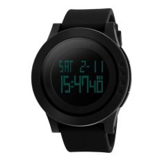 Katalog Skmei Trendy Men Led Display Watch Water Resistant 50M 1142 Hitam Skmei Terbaru