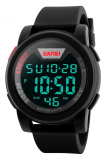 Spesifikasi Skmei Trendy Men Led Display Watch Water Resistant 50M Dg1218 Hitam