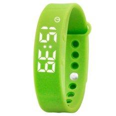 Jual Skmei W05 Wanita Olahraga Watch Smart Gelang Kalori Kebugaran Tracker Alarm Pemantauan Tidur Pedometer Thermometer Gelang Digital Jam Tangan Hijau Intl Ori
