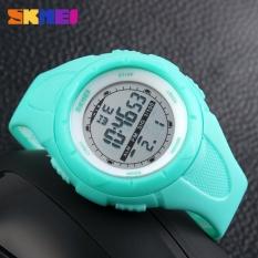 SKMEI  Watch 1025 Wanita Militer Watch Outdoor Sport LED Digital Jam Tangan 50 M Waterproof Pendakian Jam Alarm Fashion Casual Jam Tangan -Intl