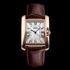 Beli Skmei Watch 1085 Wanita Fashion Leather Vintage Watches Dress Relogio Clock Merek Mewah Wanita Kasual Retro Jam Tangan Intl Pake Kartu Kredit