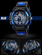 Skmei Watch 1163 Fashion Anak Olahraga Watches Kasual Merek Digital Jam Tangan Led Tampilan Jam Tangan 50 M Tahan Air Karet Gelang Intl Tiongkok Diskon