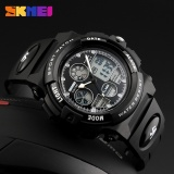 Skmei Watch 1163 Fashion Anak Olahraga Watches Kasual Merek Digital Jam Tangan Led Tampilan Jam Tangan 50 M Tahan Air Karet Gelang Intl Original