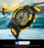 Promo Skmei Watch 1163 Fashion Anak Olahraga Watches Kasual Merek Digital Jam Tangan Led Tampilan Jam Tangan 50M Waterproof Karet Gelang Intl Di Tiongkok