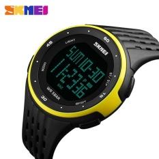 Review Skmei Watch 1219 Digital Kolam Olahraga Jam Tangan Pria Chronograph Fashion Jam Alarm Pu Tali Tahan Air Relogio Masculino Intl Skmei