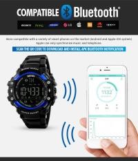SKMEI  Watch 1226 Baru Pria Smart Digital Olahraga Watch Tidur Monitor Panggilan Pengingat Remote Kamera Pedometer Jam Tangan Relogio- INTL