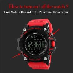 Spesifikasi Skmei Watch 1227 Merek Pria Digital Jam Tangan Watch Big Dial Mode Kolam Olahraga Watches El Backlight Tahan Air Manusia Jam Intl Murah Berkualitas