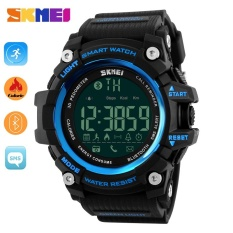 SKMEI  Watch 1227 Pria Olahraga Watch Fashion Kolam Digital Watches Kebugaran Tracker Bluetooth IOS 4,0 Android Besar Dial Jam Tangan -Intl