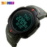 Diskon Skmei Watch 1231 Kompas 5Atm Air Bukti Digital Kolam Olahraga Watch Pria Watch Lampu Latar El Countdown Jam Tangan Intl