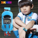 Toko Skmei Watch 1241 Anak Watches Fashion Kreatif Kartun Mobil Digital Sport Kids Watch Boys Jam Tangan Lengkap Tiongkok