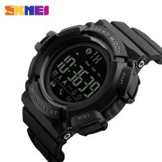 Harga Skmei Watch 1245 Baru Pria Smart Digital Olahraga Watch Tidur Monitor Panggilan Pengingat Remote Kamera Pedometer Jam Tangan Relogio Intl Termahal