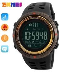 SKMEI  Watch 1250 Fashion Smart jam tangan  Pedometer kalori Digital Watch untuk Apple IOS Android sistem pria wanita Waterproof olahraga Watches - intl