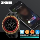 Spesifikasi Skmei Watch 1250 Pria Smart Watch Pedometer Bluetooth Kalori Chronograph Fashion Outdoor Jam Tangan Olahraga El Backlight Tahan Air Pria Clock Intl Bounabay Terbaru