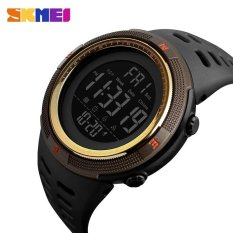 Rp 108300 Watch 1251 Waterproof Mens Watches New Fashion Casual LED Digital Outdoor