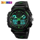 Diskon Besarskmei Watch 1270 Dual Layar Elektronik Light Alarm Militer Waterproof Jam Tangan Pria Intl