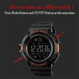 Spek Skmei Watch Pria Digital Pedometer Kebugaran Tracker Jam Kalori Smart Watch Relogio Masculino Fashion Sports Merek Watches 1245 Intl